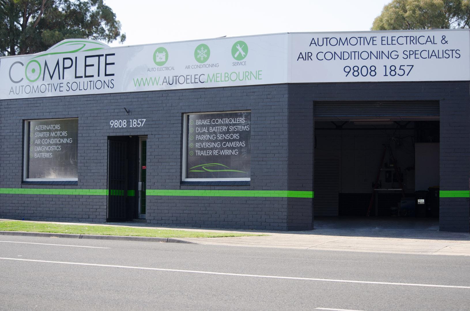 Complete Automotive Solutions Workshop