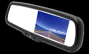 LCD Reversing Mirrors & Cameras